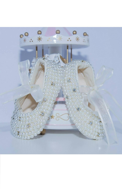 Sapato Encanto Branco Roana Acessórios