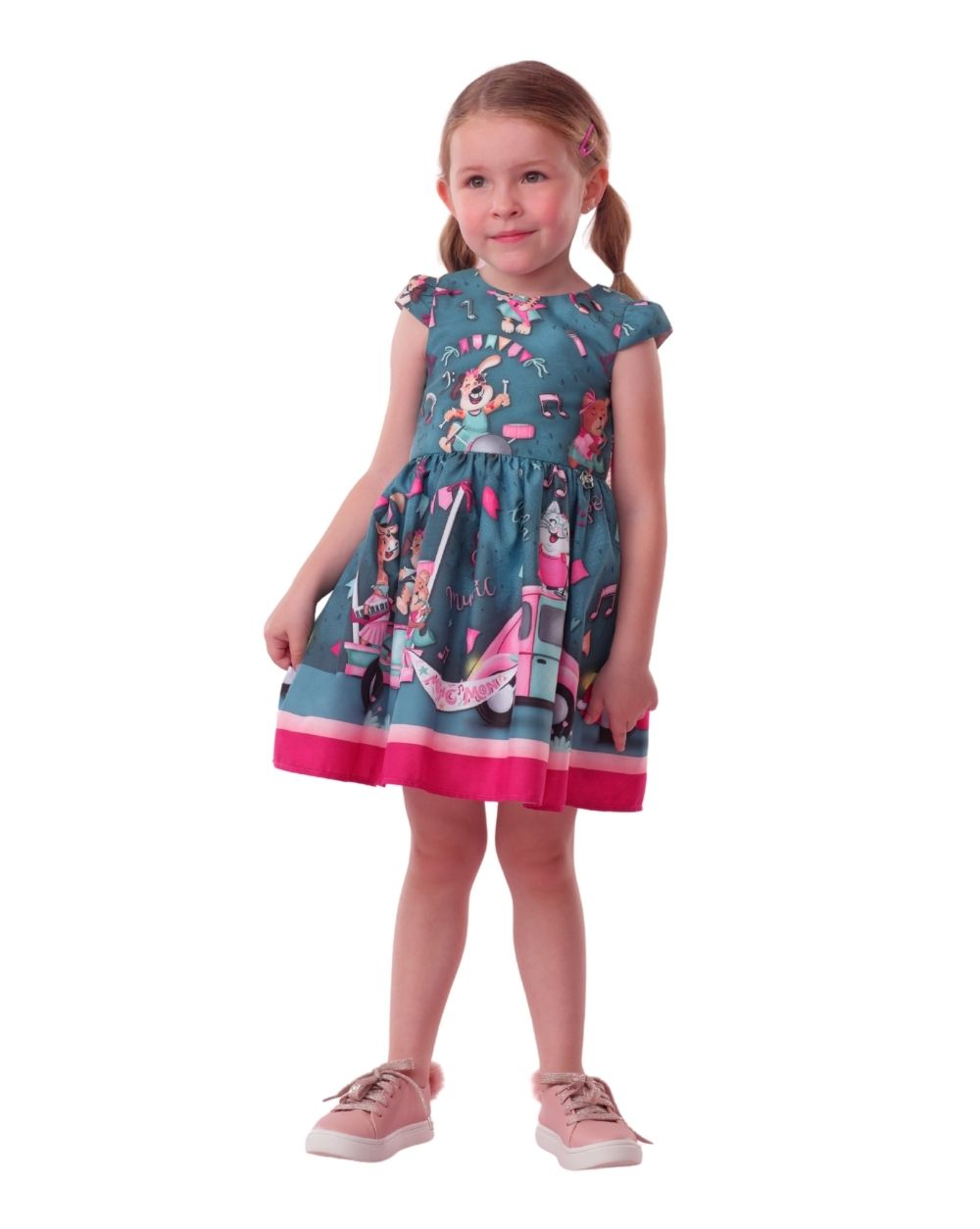 Vestido Alegria de Música Junina  Mon Sucre Infantil