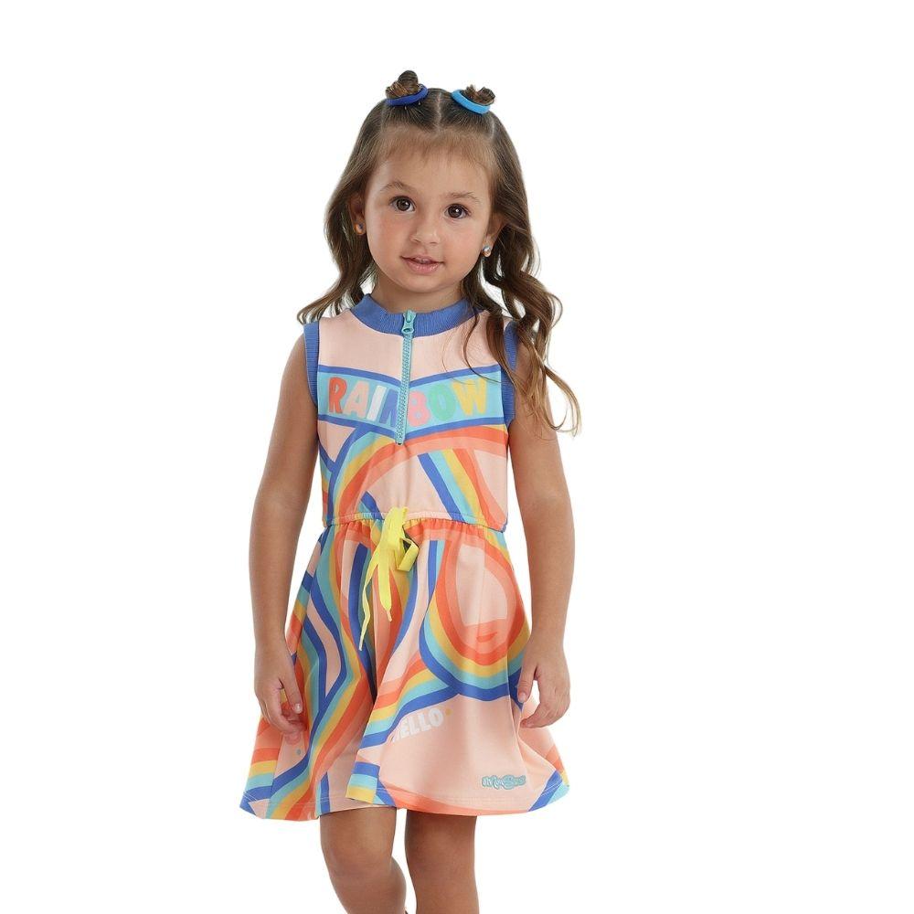 Vestido Color Fun Mon Sucre Infantil