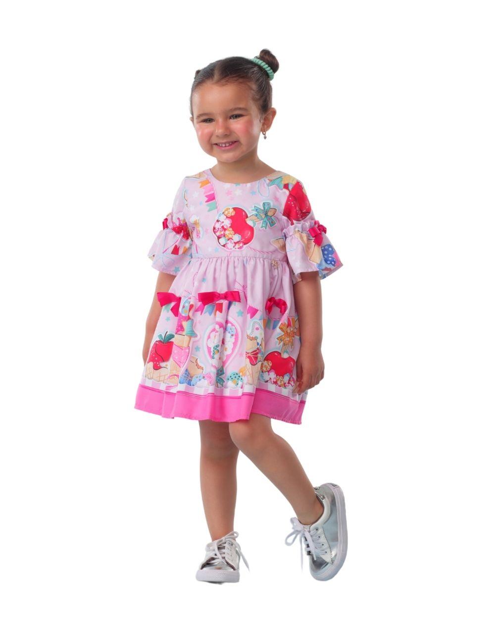 Vestido Doce Arraial Junino Mon Sucre Infantil