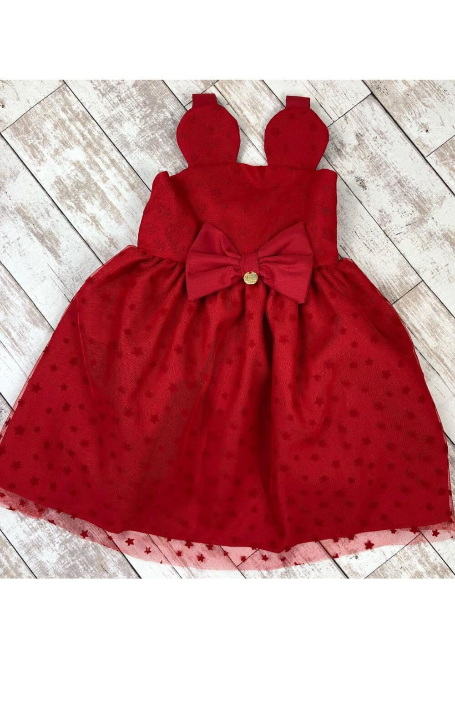 Vestido Estrelas de Tule Mon Sucre Infantil