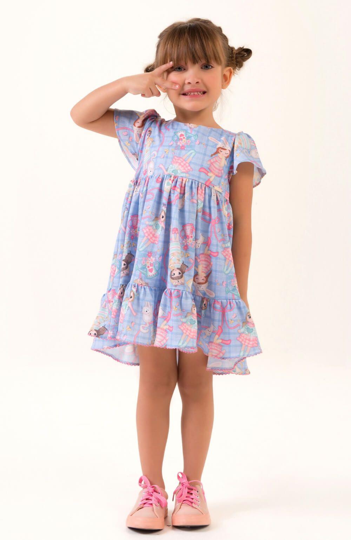 Vestido Menina Infantil Mon Sucre