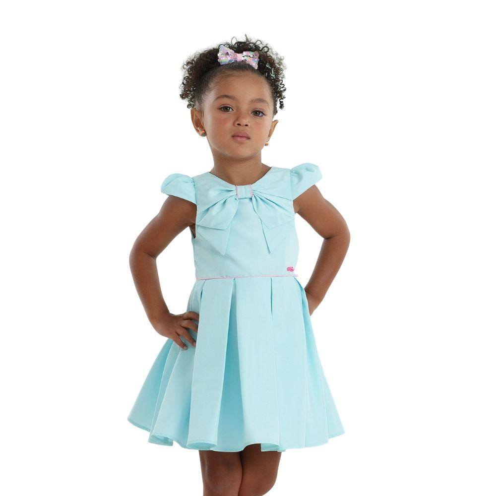 Vestido Moderno Art Mon Sucre Infantil