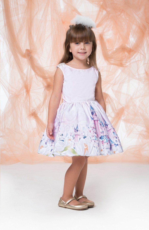 Vestido Mundo das Princesas  Gabriela Aquarela