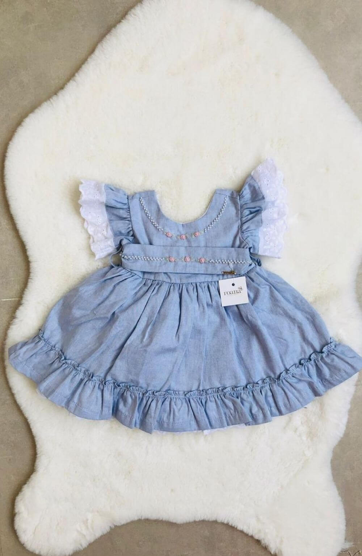 Vestido Princesa Azul Roana