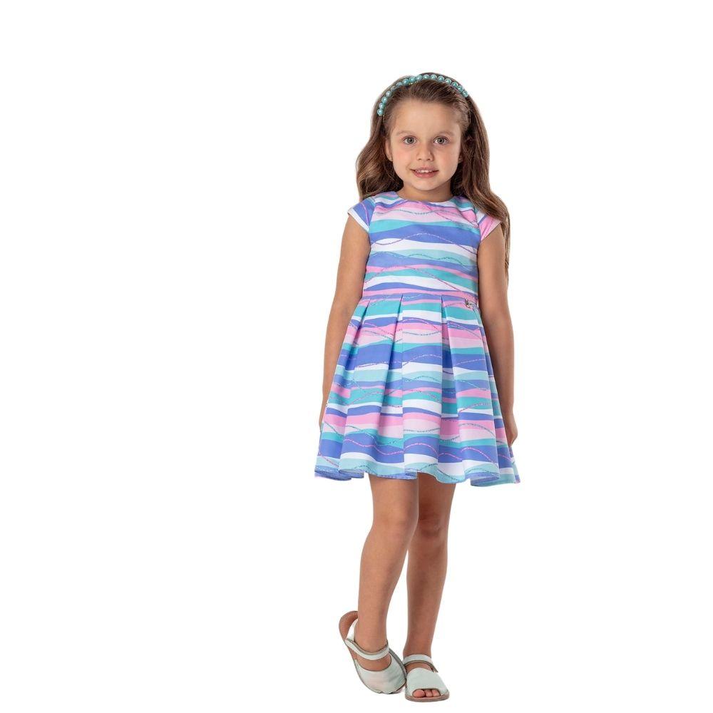 Vestido Sereia + Bolsa Mon Sucre Infantil