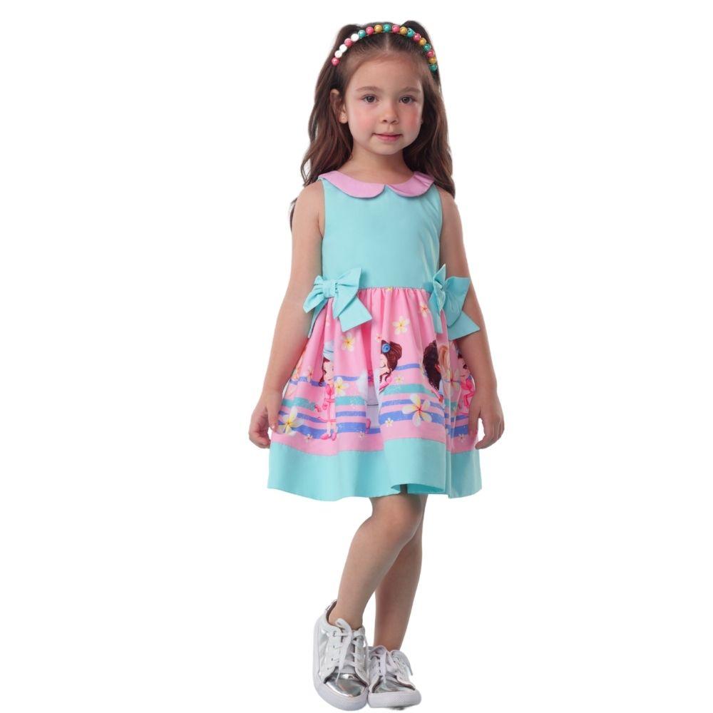 Vestido Spa Day Menina Mon Sucre Infantil