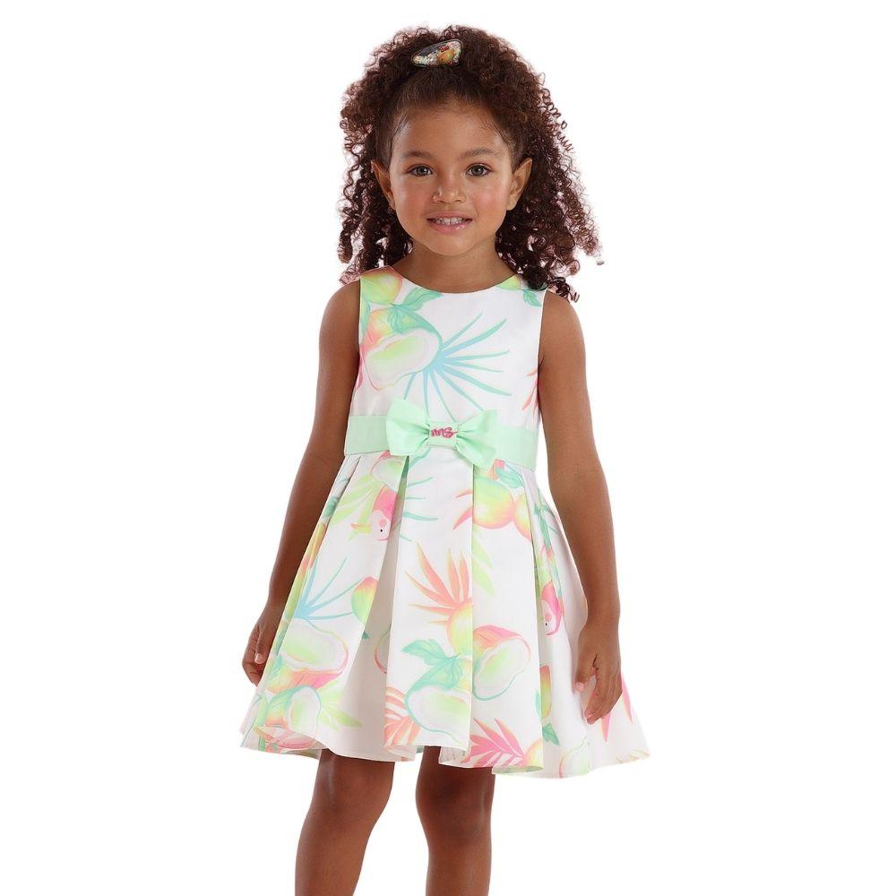 Vestido Sunshine com Laço Mon Sucre Infantil