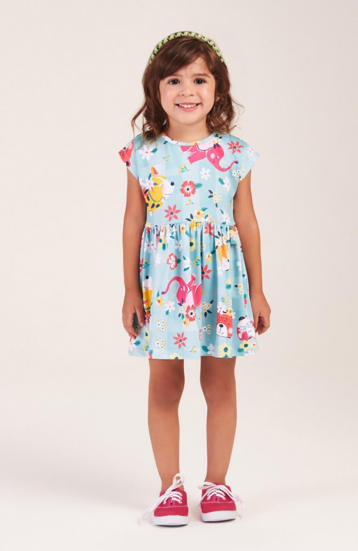 Vestido Tropical Mon Sucre Infantil
