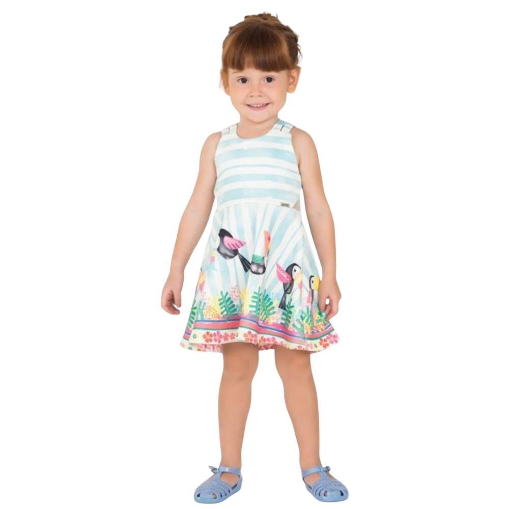 Vestido Tucano Mon Sucre Infantil