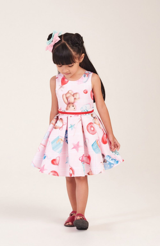 Vestido Doçura Mon Sucre Infantil
