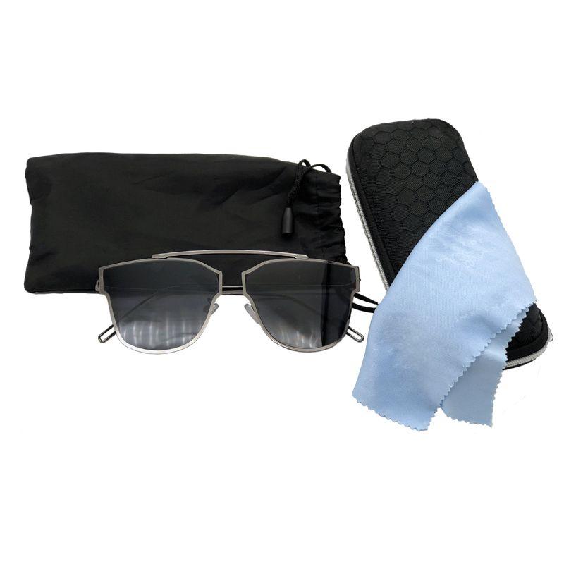 Óculos de Sol Armação Arame Fino com Proteção UV 400 - Loja Nobre 24b77df3b1