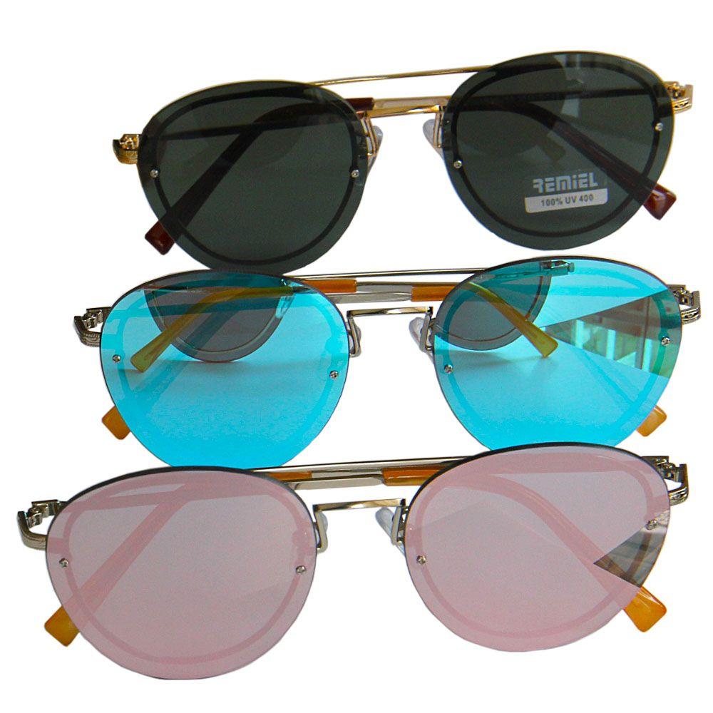 d80a6e38f8c7f Oculos De Sol Armação Preta com protecao Uv400 - Loja Nobre