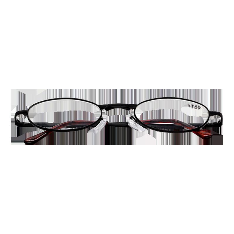 c906d53f5ab48 Oculos Portatil e Dobravel para Leitura Armação Preta e Lente Oval - Loja  Nobre