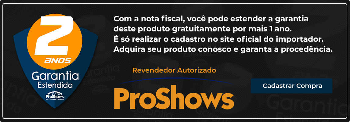 revendedor autorizado proshows