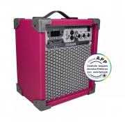 Caixa Amplificada Multiuso Frahm - Lc 250 App Pink