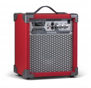 Caixa Amplificada Multiuso Frahm - Lc 250 App Vermelho