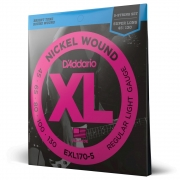 Encordoamento Para Baixo 5 Cordas Escala Longa .045-.130 D'Addario XL Nickel Wound EXL170-5