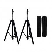Kit Com Par de Stand Para Caixa Acústica + Bag SPS-2 Lexsen