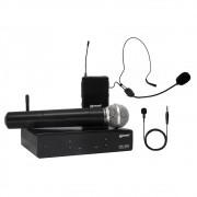 Kit Microfone Lexsen XSL 503 UHF - 2 Canais