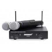 Microfone sem fio Duplo Lexsen LM-WF258