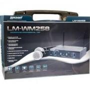 Microfone duplo sem Fio Lexsen LM-WM258