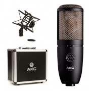 Microfone Condensador com 3 Padrões Polares P420 AKG