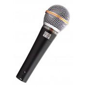 Microfone Kadosh K 58A Dinâmico Com Bag e Cabo 4 Metros