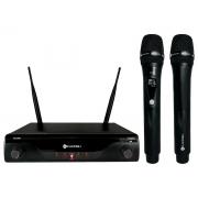 Microfone S/Fio KDSW-412M Recarregável Kadosh