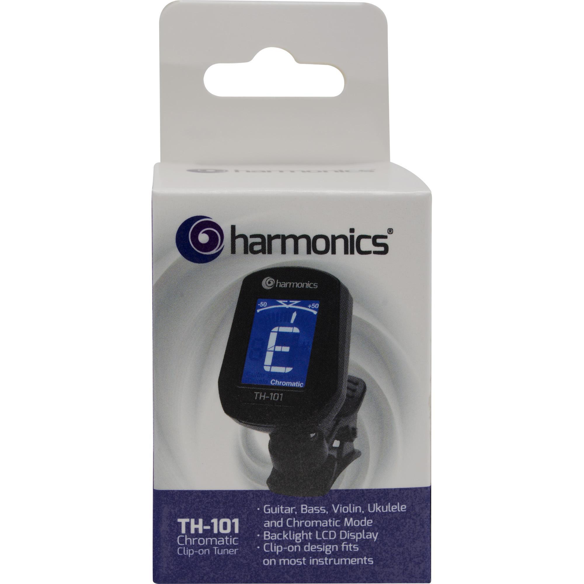 Afinador Clip Cromático TH-101 Harmonics