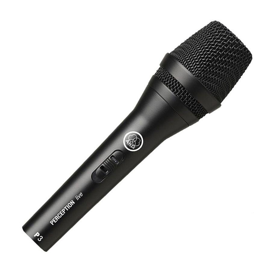 Microfone Akg P3s Perception P3s Dinâmico