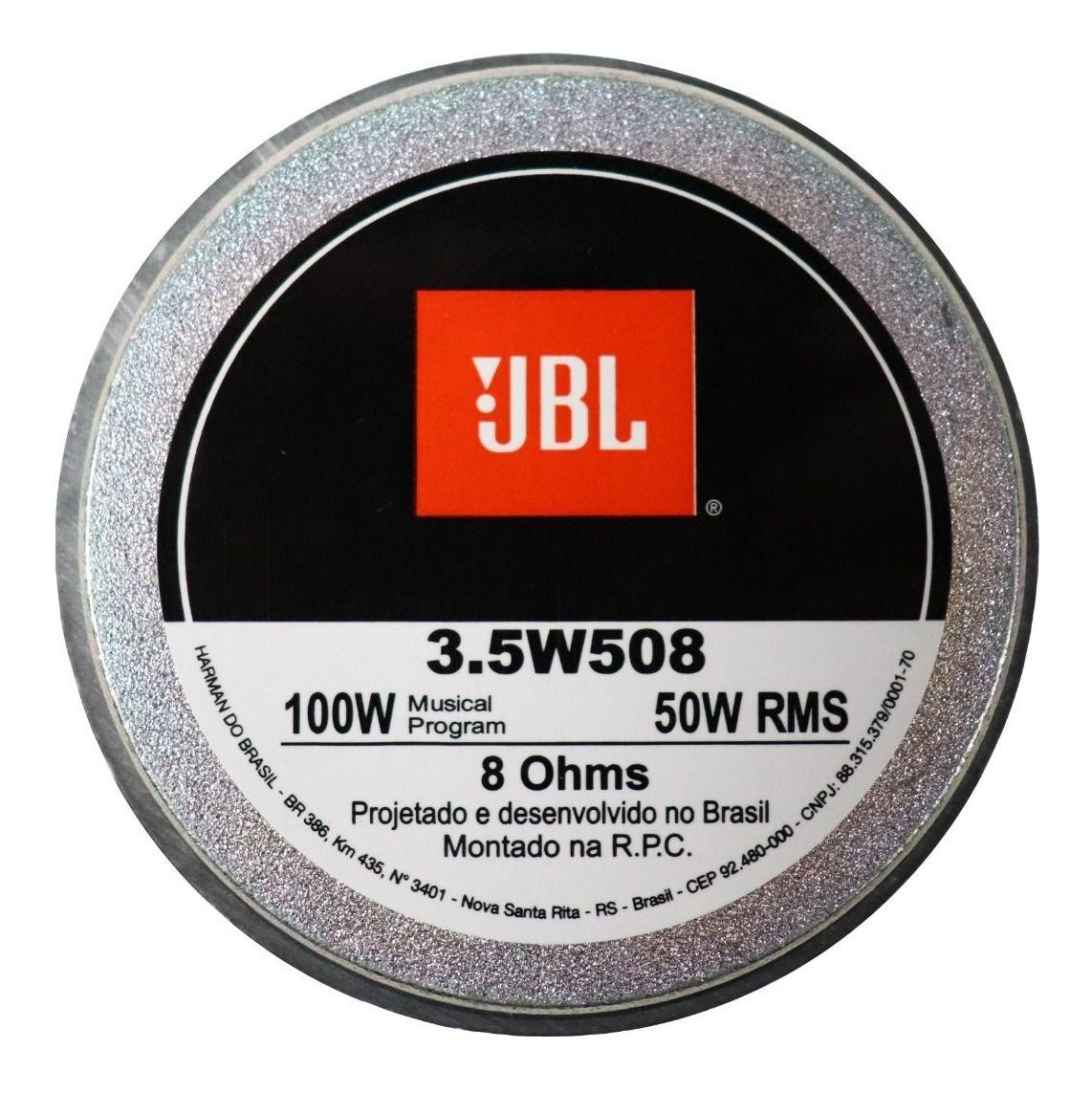 Alto Falante JBL 3,5 Polegadas 3.5W508 - Unidade