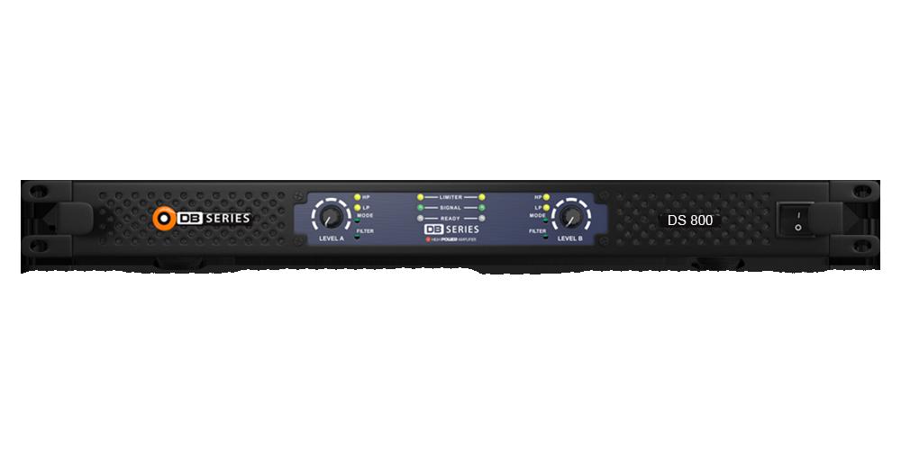 Amplificador DB Series DS 800 Slim 800w 4 Ohms 2 Canais Bivolt