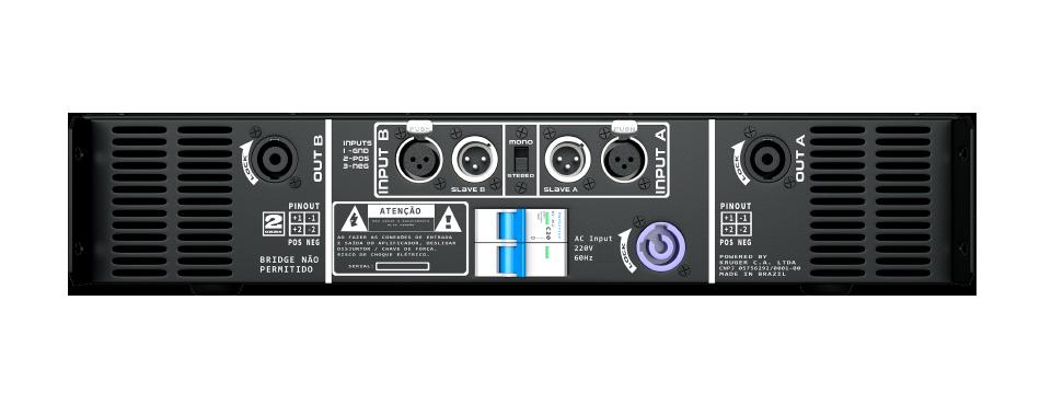 Amplificador DB Series LD9K - 9100W Rms 2 Canais 220V