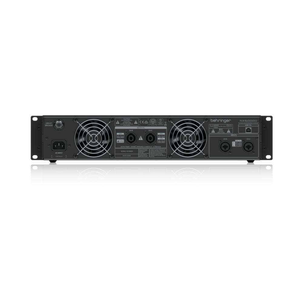 Amplificador de Potência NX6000D Behringer