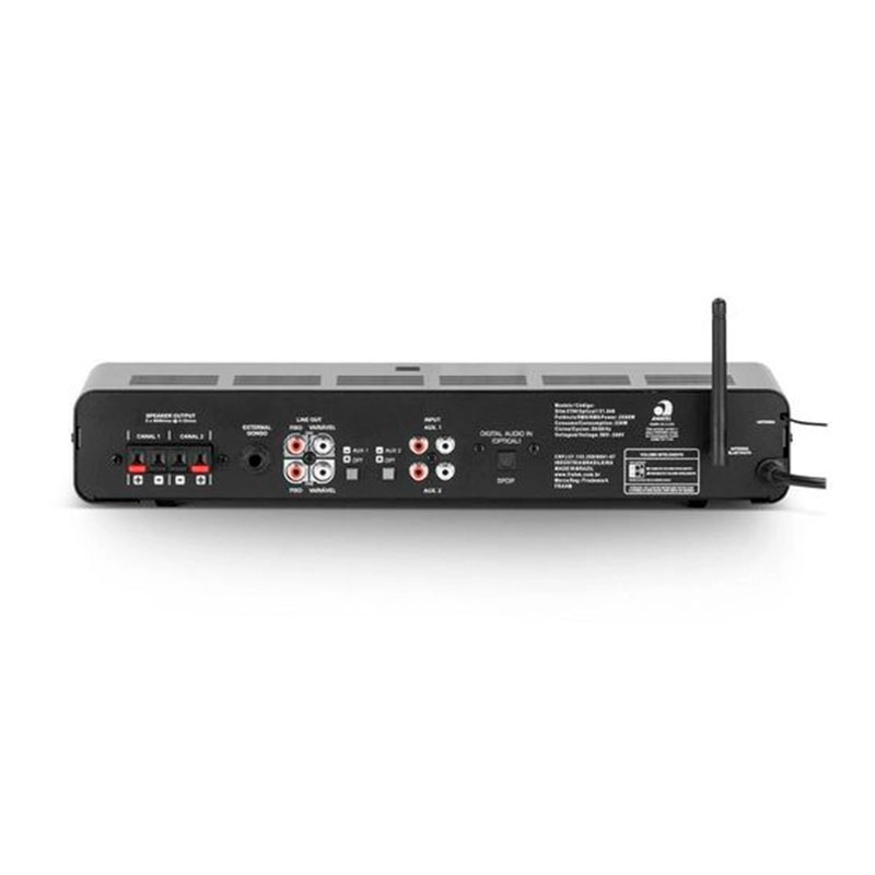 Amplificador Slim 2700 Optical G3 Frahm