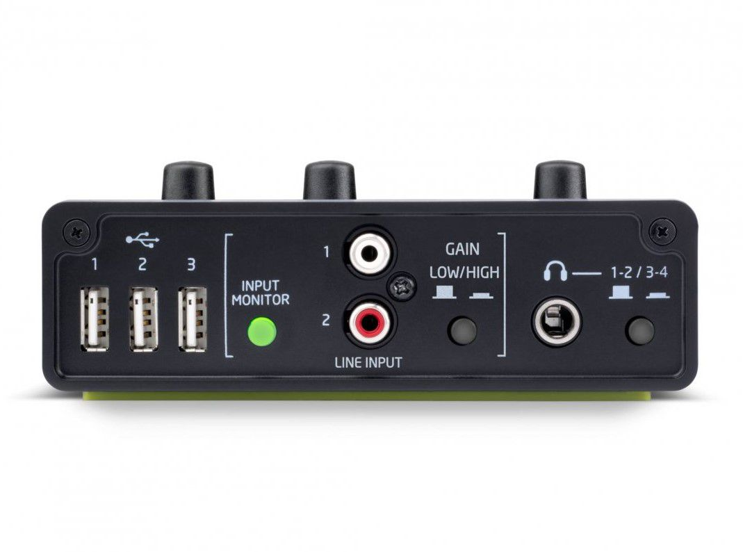 Audiohub 2x4 Novation - Interface De Áudio Usb 2.0
