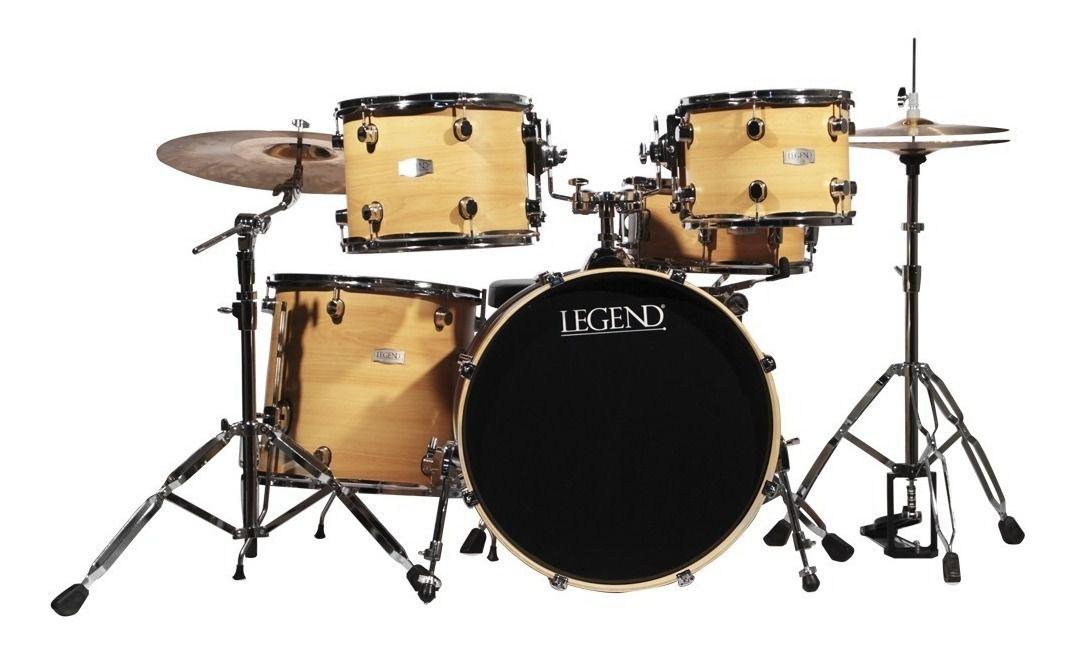 Bateria Acústica Legend Classic Maple 7 Peças