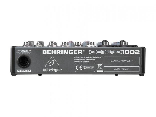 Mesa Behringer Xenyx 1002