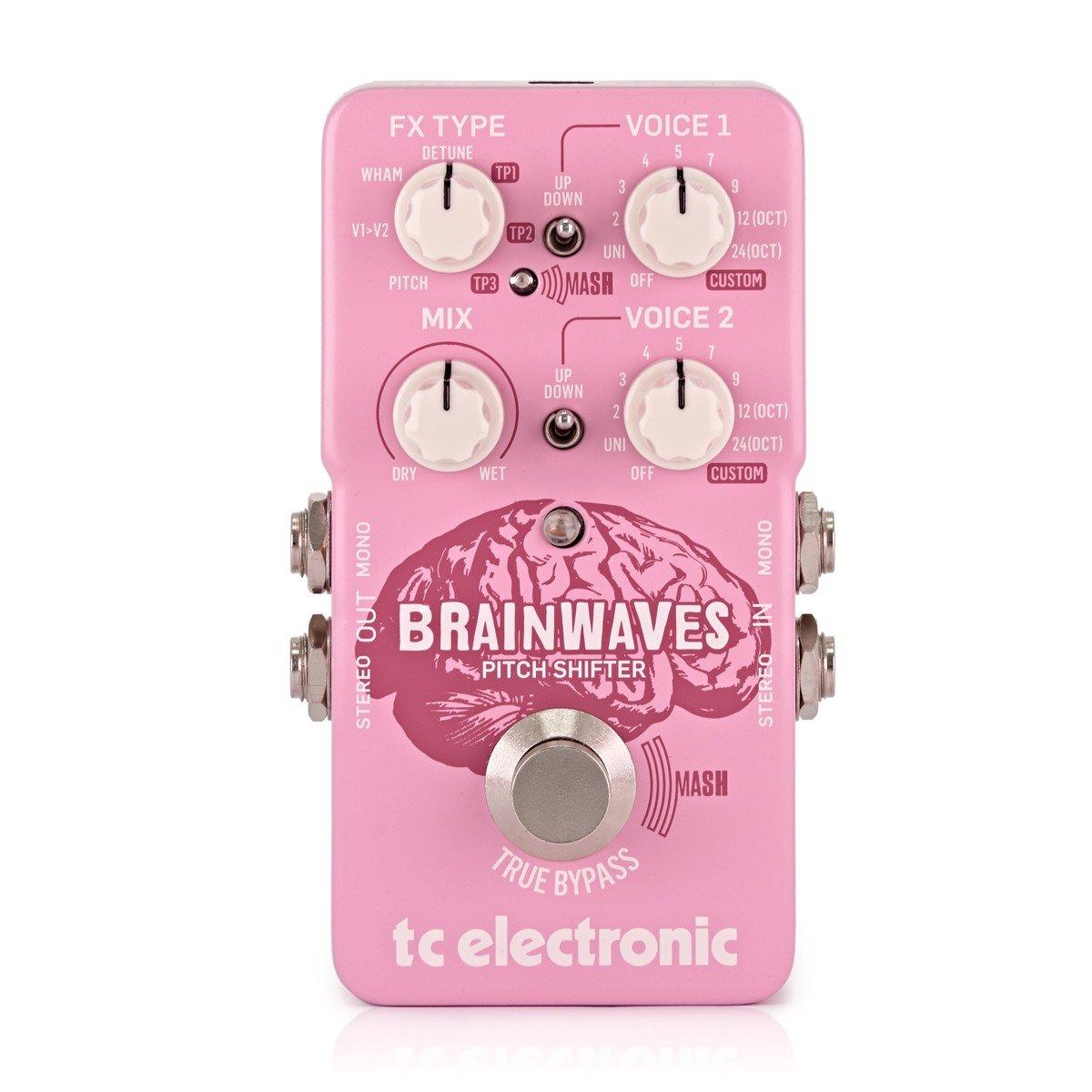 Pedal Processador de Efeitos Brainwaves Pitch Shifter TC Electronics
