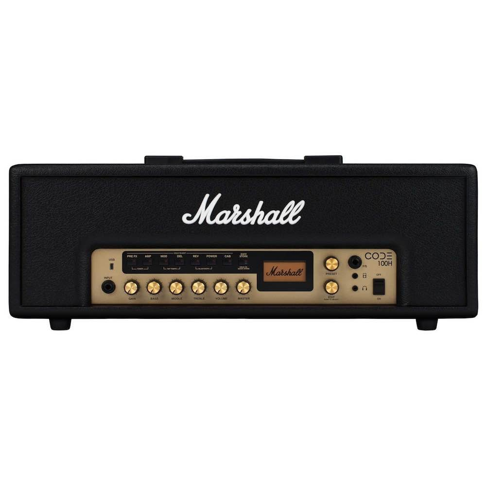 Cabeçote Para Guitarra Marshall Code100H 100W