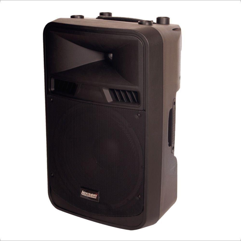 Caixa Acústica Lexsen LXX-15A 500w Rms Fm Usb Bluetooth