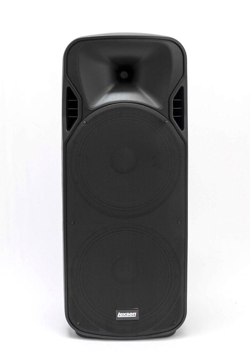 Caixa Acústica LPS-2015A MP3 Lexsen 400W Rms Bivolt