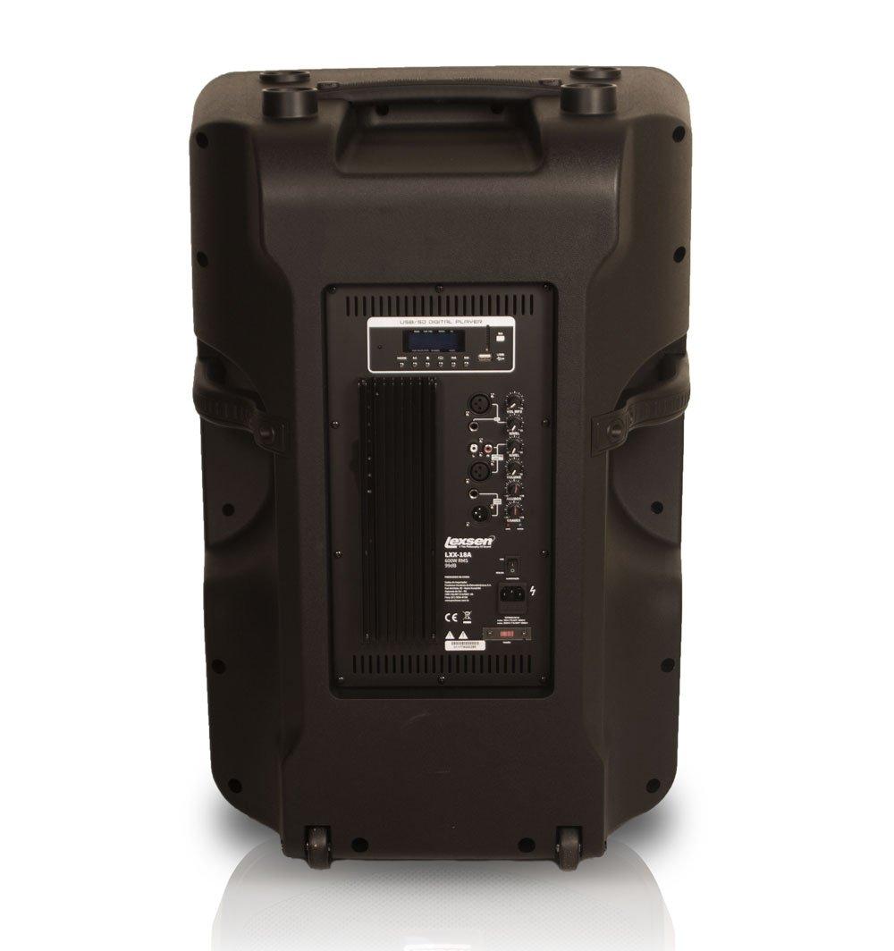 Caixa Acústica LXX-18A Powerful Lexsen 800W Rms Bivolt