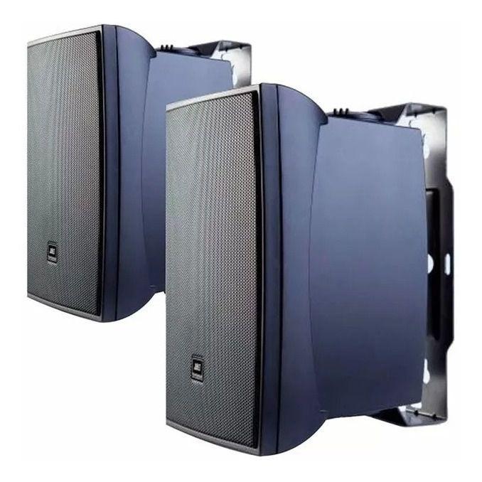 Caixa de Som Acústica JBL C321P Passiva 60W Rms Preta Par