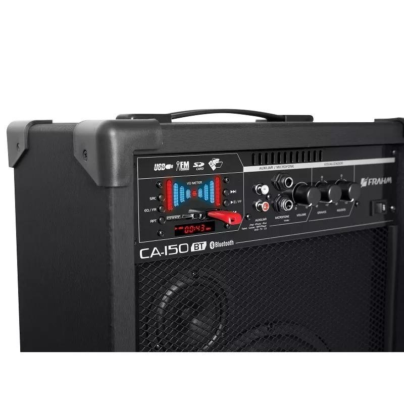 Caixa De Som Amplificada Frahm Ca150 Bluetooth 50w Usb Ca 150