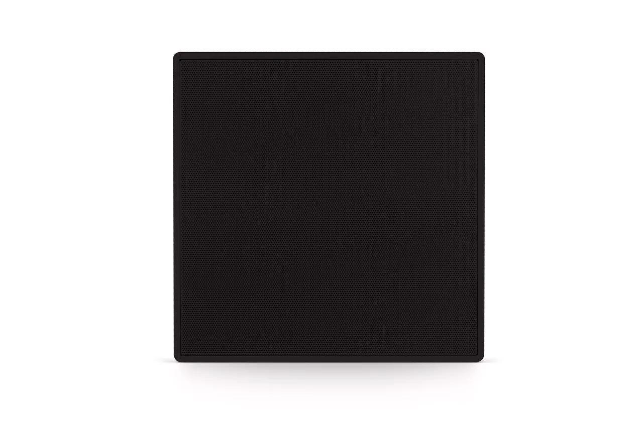 Caixa de Som Arandela Quadrada 6CX 50W Q Preta Frahm
