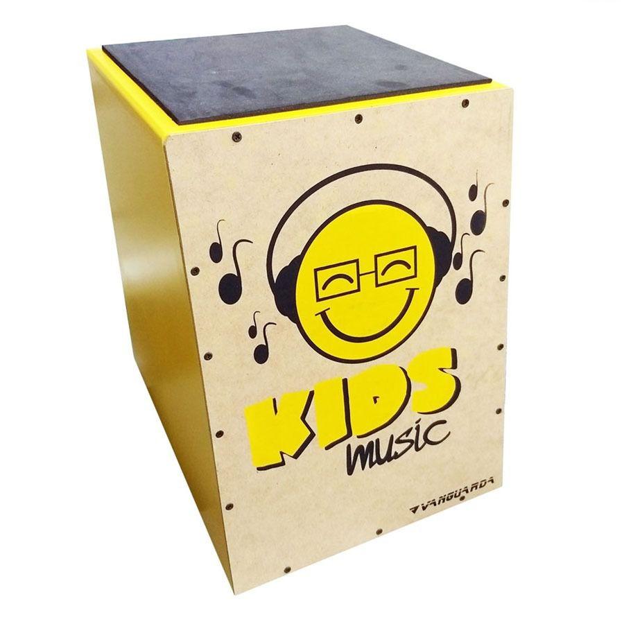 Cajon Spanking Mini Cajon Kids Amarelo