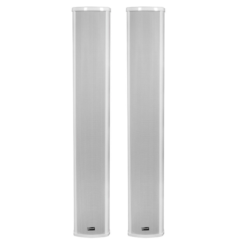 Coluna de Som Ambiente LCA63 Lexsen 45W Rms Passiva Par