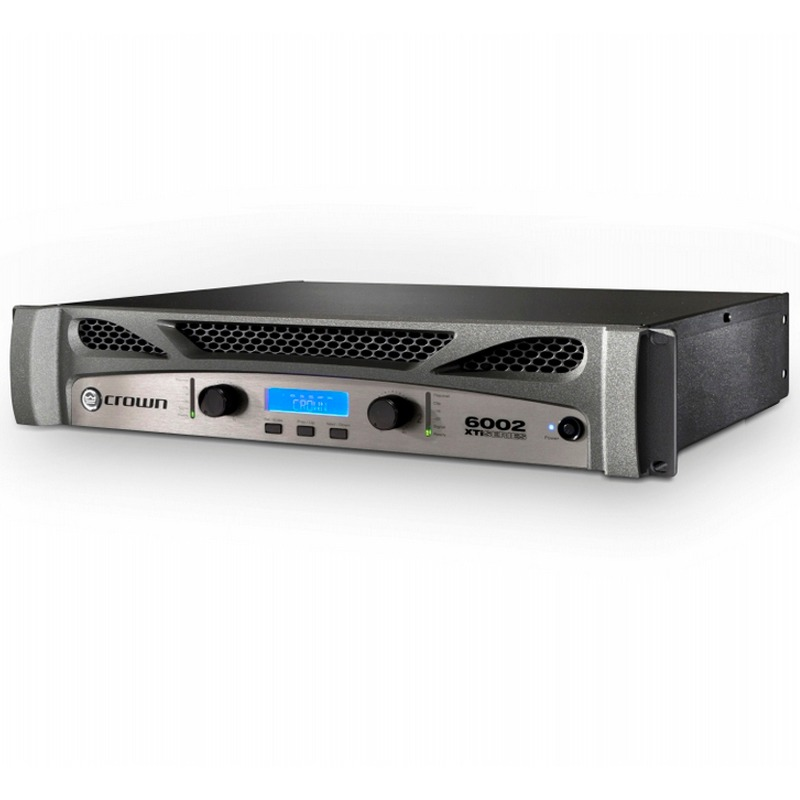Amplificador Potência Crown Xti 6002 6000w RMS
